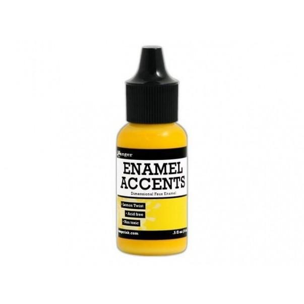 Enamel accents, Lemon twist