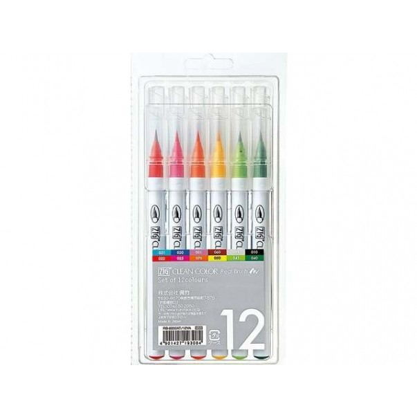 Set markerjev Clean Color, Real brush