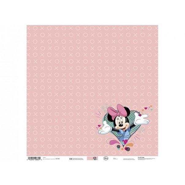 Papir, Disney, Minnie Pink Heart