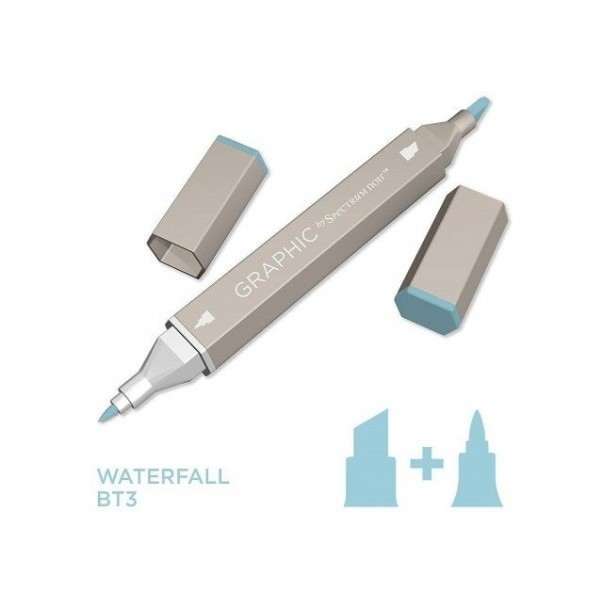 Marker Graphic, Waterfall