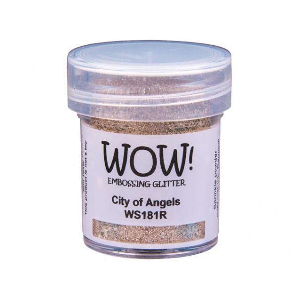 Embossing prah, glitter, City of Angels