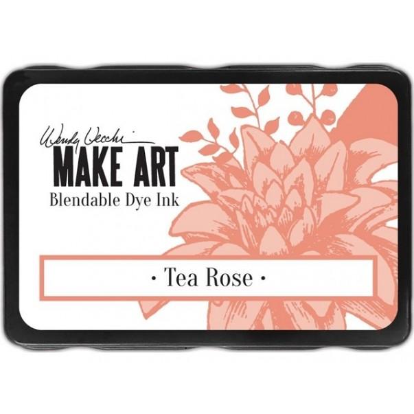 Barvna blazinica, Make Art, Tea Rose