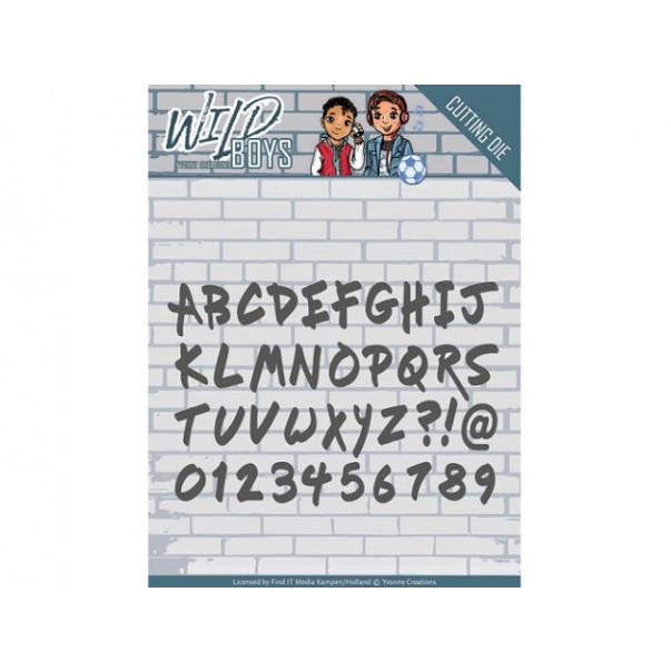 Rezalna šablona, Wild Boys, Solid Alphabet