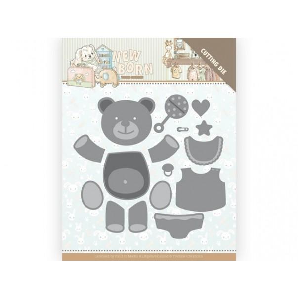 Rezalna šablona, Newborn, Build Up Bear