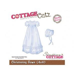 Rezalna šablona, Christening Gown