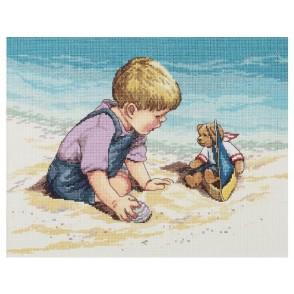 Gobelin, Deček na plaži