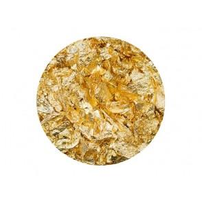 Foil flakes, Gold