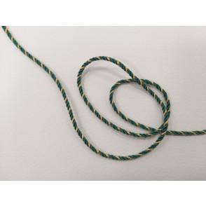 Mornarska vrvica, zeleno zlata
