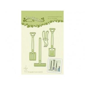 Rezalna šablona, Garden tools