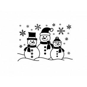 Mapa za embosiranje, Snowman