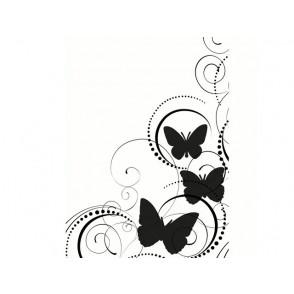 Mapa za embosiranje, Butterfly swirl