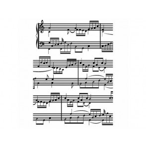 Mapa za embosiranje, Sheet music