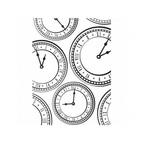 Mapa za embosiranje, Clock