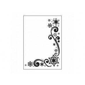Mapa za embosiranje, Snowflake scroll