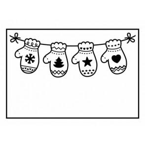 Mapa za embosiranje, Hanging mittens