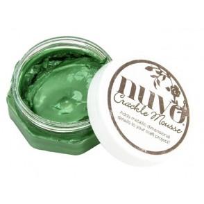 Crackle Mousse, Chameleon Green
