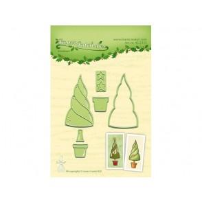 Rezalna šablona, Paper patch tree