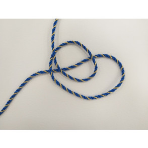 Mornarska vrvica, modro zlata