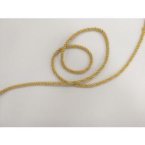 Mornarska vrvica, rumeno srebrna