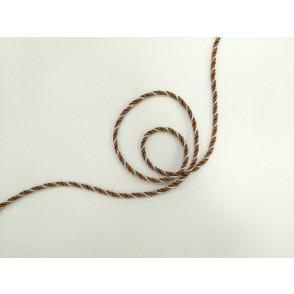Mornarska vrvica, rjavo srebrna