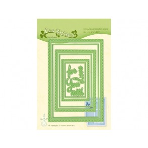 Rezalna šablona, Postage stamp frames