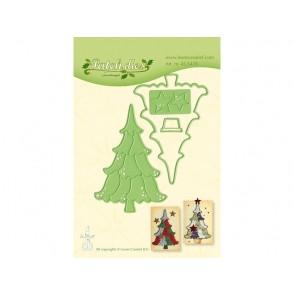 Rezalna šablona, Patch die Christmas tree
