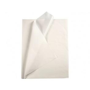 Svilen papir, bel