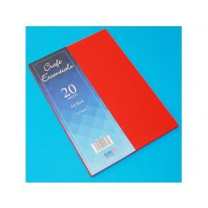 Papir, A4, Red