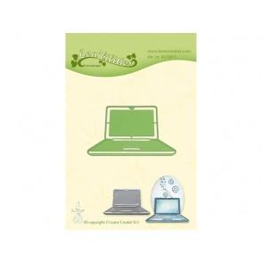 Rezalna šablona, Laptop