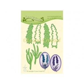 Rezalna šablona, Lavender