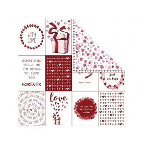 Dizajnerski papir, love