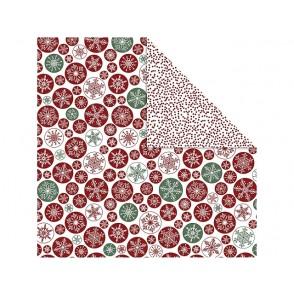 Dizajnerski papir, snežinke in pike