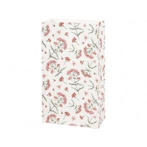 Darilna vrečka, rože