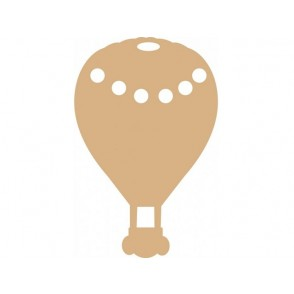 Lesena osnova, MDF, balon