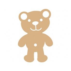 Lesena osnova, MDF, medvedek