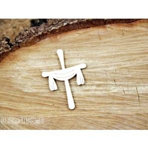 Izrezek, chipboard, Lesena dekoracija,križ