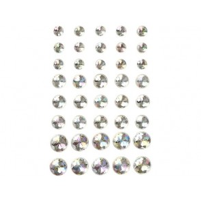Samolepilni kristalčki, holo