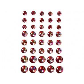 Samolepilni kristalčki, rdeči