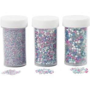 Mini steklene perle