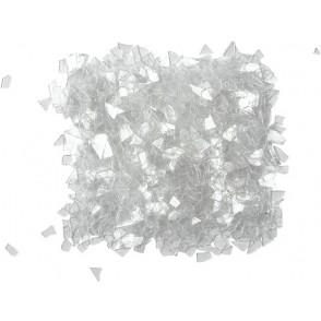 Bleščeče luske, beli kristali