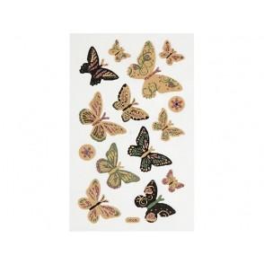 Nalepke, metulji