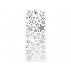 Nalepke, srebrne zvezde