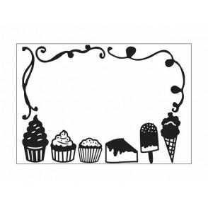 Mapa za embosiranje, Desserts