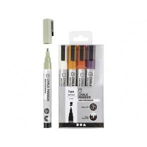 Marker, Chalk, barvni mix