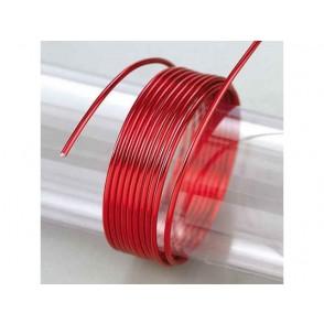 Žica iz aluminija, rdeča