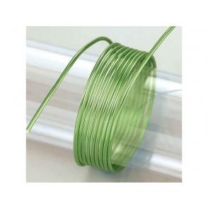 Žica iz aluminija, svetlo zelena