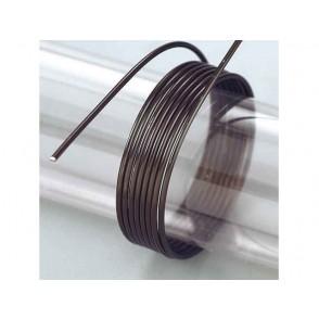 Žica iz aluminija, črna
