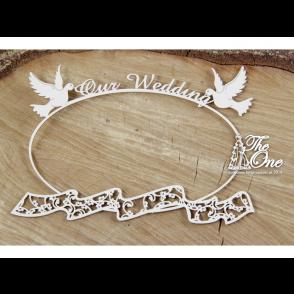 Izrezek, chipboard, The one, poročni okvir no. 4