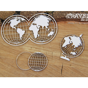 Chipboard, Travel The World, Globus