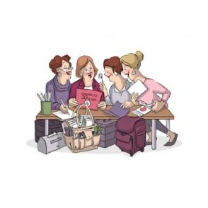 Štampiljka, Crafty Girls